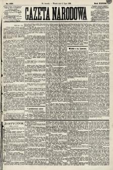 Gazeta Narodowa. 1889, nr155