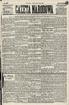 Gazeta Narodowa. 1889, nr156