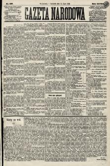 Gazeta Narodowa. 1889, nr157