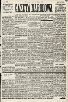 Gazeta Narodowa. 1889, nr158