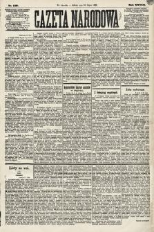 Gazeta Narodowa. 1889, nr159