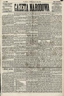 Gazeta Narodowa. 1889, nr160
