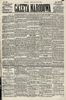 Gazeta Narodowa. 1889, nr161