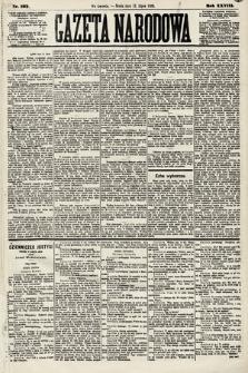 Gazeta Narodowa. 1889, nr162