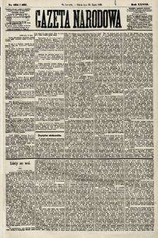Gazeta Narodowa. 1889, nr164 i165