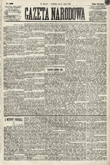 Gazeta Narodowa. 1889, nr166