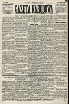 Gazeta Narodowa. 1889, nr167