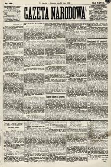 Gazeta Narodowa. 1889, nr169