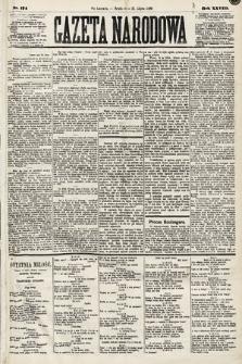 Gazeta Narodowa. 1889, nr174