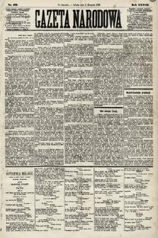 Gazeta Narodowa. 1889, nr177