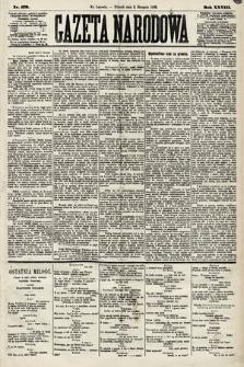 Gazeta Narodowa. 1889, nr179