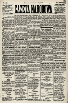 Gazeta Narodowa. 1889, nr181