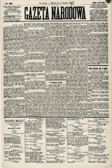 Gazeta Narodowa. 1889, nr187