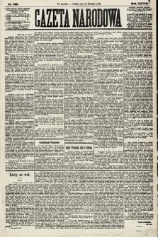 Gazeta Narodowa. 1889, nr188