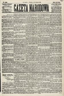 Gazeta Narodowa. 1889, nr190