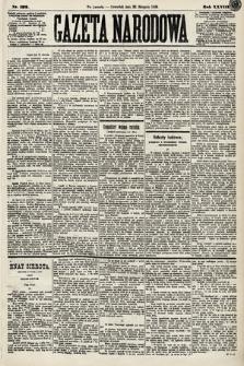 Gazeta Narodowa. 1889, nr192