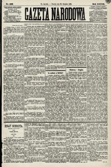 Gazeta Narodowa. 1889, nr196