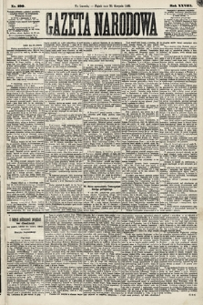 Gazeta Narodowa. 1889, nr199