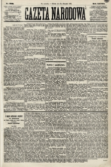 Gazeta Narodowa. 1889, nr200