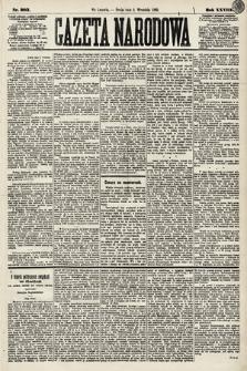 Gazeta Narodowa. 1889, nr203