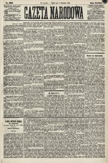 Gazeta Narodowa. 1889, nr205