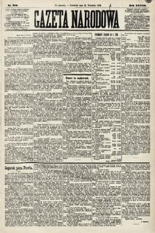 Gazeta Narodowa. 1889, nr210