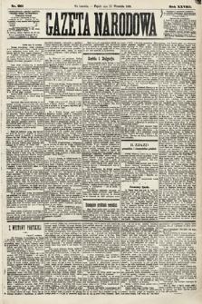 Gazeta Narodowa. 1889, nr211
