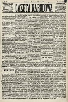Gazeta Narodowa. 1889, nr214
