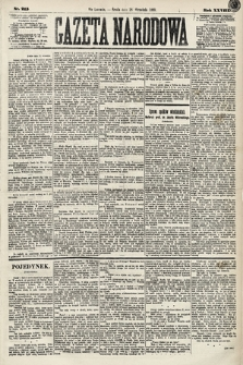 Gazeta Narodowa. 1889, nr215