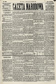 Gazeta Narodowa. 1889, nr218