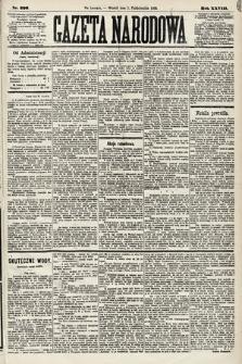 Gazeta Narodowa. 1889, nr226