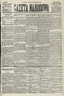 Gazeta Narodowa. 1889, nr227