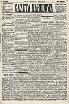 Gazeta Narodowa. 1889, nr228