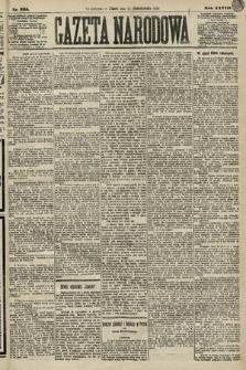 Gazeta Narodowa. 1889, nr235