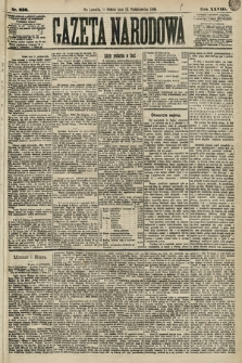 Gazeta Narodowa. 1889, nr236