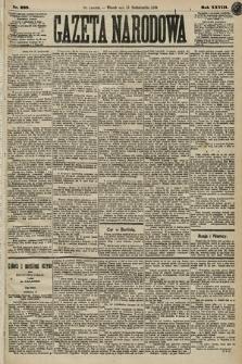 Gazeta Narodowa. 1889, nr238