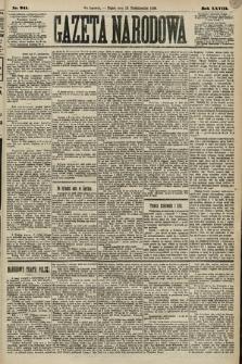 Gazeta Narodowa. 1889, nr241