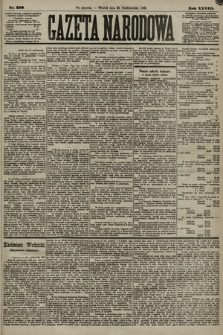 Gazeta Narodowa. 1889, nr250