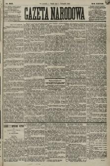 Gazeta Narodowa. 1889, nr253