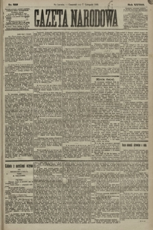 Gazeta Narodowa. 1889, nr257