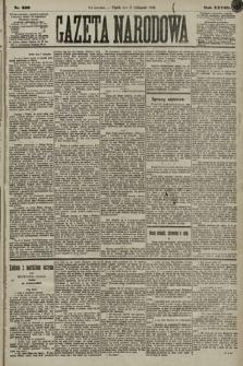 Gazeta Narodowa. 1889, nr258