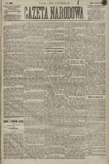 Gazeta Narodowa. 1889, nr265