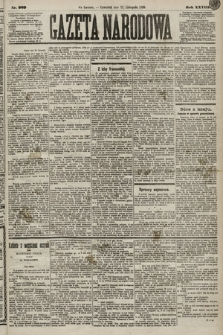 Gazeta Narodowa. 1889, nr269