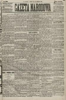 Gazeta Narodowa. 1889, nr270