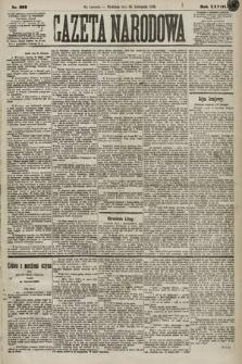 Gazeta Narodowa. 1889, nr272