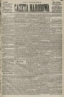 Gazeta Narodowa. 1889, nr273