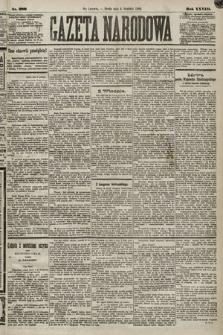Gazeta Narodowa. 1889, nr280