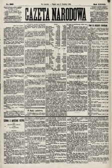Gazeta Narodowa. 1889, nr282