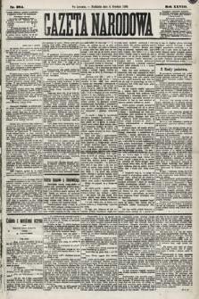 Gazeta Narodowa. 1889, nr284