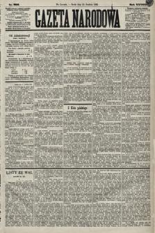 Gazeta Narodowa. 1889, nr292